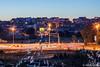 Pula at Dusk / Pula, Croatia (Niels Photography) Tags: street city travel sunset urban night canon photography lights evening long exposure dusk croatia pola niels pula istria residences hrvatska istrian