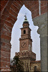 Vigevano (alfvet) Tags: nikon torre castello citt vigevano veterinarifotografi d5100