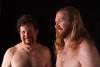 2 Shirtless Guys Talking (Candice, AKA Bessie Smith) Tags: shirtless men hair jonathan guys larry