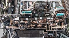 The Machine (Sandro Bisaro) Tags: urban panorama industry germany deutschland industrial aerialview saarland ironworks drone völklingen völklingerhütte völklingenironworks drohne sandrobisaro djiphantom2 djphantom2visionplus