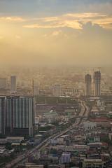 Bangkok evening light (oatjirapatt) Tags: city light sunset sky thailand evening nice fav50 bangkok photooftheday fav10 fav25 fav100 fav75