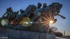The Artillery Group   ( Explored ) (m_hamad) Tags: park sun monument statue canon washingtondc dc explore f16 soldiers nationalgeographic supershot 60d ultimateshot theartillerygroup