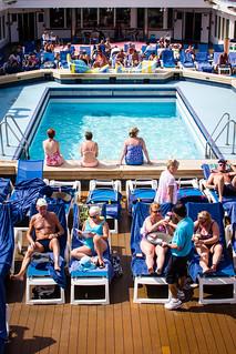 Onboard the Thompson Dream - Caribbean Sea