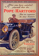 1912 Pope-Hartford Model 27 Touring Car & Limousine (aldenjewell) Tags: pope car model ad 1912 27 hartford limousine touring