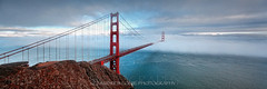 I N C O M I N G (Andrew Louie Photography) Tags: life camera bridge blue summer west coffee fog photography golden coast gate san francisco pano jazz andrew panoramic incoming louie epic ends