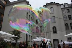 Seifenblasenfabrik Bubblebo Seifenblasenshow beim Tag der offenen Tür im Bundesministerium für Landwirtschaft 7