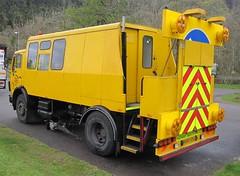 WDM Deflectograph truck (Inverness Trucker) Tags: road truck mercedes vehicle survey wdm deflectograph wdmltd b880xou