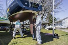 DSC00052 Theia spring paint 2015 (Theia RCYC) Tags: paint sailing copper sa theia 2015 rcyc j100 burlcrone
