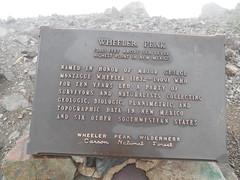 Wheeler Peak Historic Marker (jimmywayne) Tags: mountain newmexico carson highpoint nationalforest taos highest wheelerpeak taoscounty