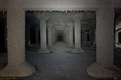 703_3133 (M Falkner) Tags: urban underground concrete tank flood drain management watershed pillars subterranean exploration sewer overflow ue urbex cso draining keelesdale