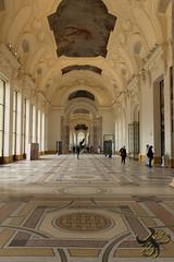 longue grande galerie (Thierry Poupon) Tags: petitpalais espace galerie hall mozaque vide volume lumire dcor