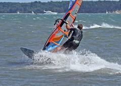 Aug0304a (Mike Millard) Tags: hamworthypark pooleharbour windsurfers