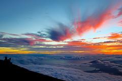 SHOOTING SUNSET (pbuschmann) Tags: sky clouds hawaii photographer altitude maui haleakala