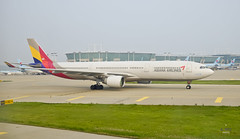Asiana Airbus A330 (A. Wee) Tags: korea  incheon airport  seoul  airbus a330 a330300 asianaairlines asiana