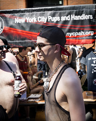 094A8548 v2 (Wheels Down) Tags: street nyc cute sunglasses mesh lock sub folsom shades twink east chain cap handlers tanktop hottie pup collar 2016