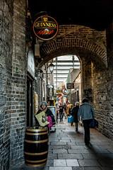 Merchant Arch, Dublin. (EireanClaire) Tags: merchantarch dublin streetphotography guinness lane people city ireland