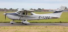 Cessna 182T Skylane G-IJAG Lee on Solent Airfield 2016 (SupaSmokey) Tags: cessna 182t skylane gijag lee solent airfield 2016 eghf