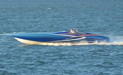 Outerlimits (jelpics) Tags: outerlimits speedboat cigaretteboat boston bostonharbor bostonma harbor massachusetts ocean port sea boat ship vessel