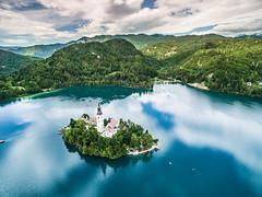 Bled, Slovenia (Drone) (Varmer) Tags: slovenia bled phantom drone dji
