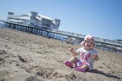 Summer time (miroslav.tokarsky) Tags: light summer portrait baby sun hot color cute colors girl smile weather 35mm pier seaside model day time pentax sunny lovely k50 pentaxart