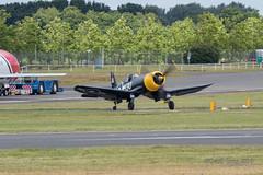 Vought F4U Corsair-1 (Clubber_Lang) Tags: airshow corsair farnborough f4u vought fia2016