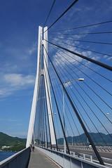 Tatara long bridge (peaceful-jp-scenery) Tags: tatara bridge island hiroshima landscape        panasonic lumix dmclx100 leicadcvariosummilux 2475mmf1728