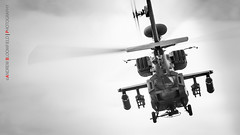 Apache attack helicopter (Andrew Bloomfield Photography) Tags: aircraft andrewbloomfieldphotography bw blackandwhite location militaryaviation photograph uk mono wwwandrewbloomfieldphotographycouk apacheattackhelicopter apache helicopter gunship army britisharmy ah64