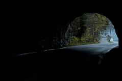 (www.tokil.it) Tags: bled radovljica slovenija slovenia ljublijanskacesta alpigiulie julianalps julijskealpe natura nature narava galleria tunnel galerija strada street cesta alberi trees drevesa imbrunire nightfall veer nikond90