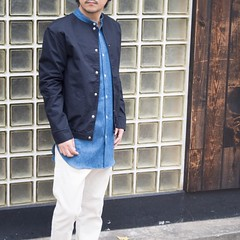 July 25, 2016 at 11:48AM (audience_jp) Tags: shop  fashion audienceshop ootd japan kouenji  snap    aud1839     upscapeaudience tokyo madeinjapan audience   coordinate