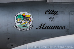 180th Fighter Wing - 2016 Thunder Over Michigan Air Show (mikelynaugh) Tags: thunderovermichigan airshow tom2016 2016tom tom ypsilanti michigan mi airshowphotos photos photosof mikelynaugh lynaugh aviation yankeeairmuseum willowrunairport willowrun 180thfighterwing 180fw toldeo ohioairnationalguard maumee f16 f16viper f16fightingfalcon stingers
