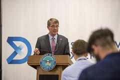 160726-D-GO396-402 (Secretary of Defense) Tags: ashcarter secretaryofdefense secdef pentagon defenseinnovationunitexperience boston technology massachusetts unitedstates usa