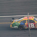 50  Kyle Busch running in the Daytona 500