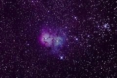 M20 - Trifid (dxer47) Tags: m20 trifid nebula celestron avx c6n