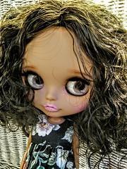 Rani, grey eyes