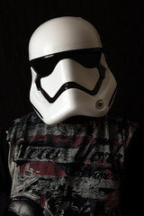 Stormtrooper (rockindave1) Tags: adobeelements13 canoneos5dmark2 mask starwars stormtrooper tshirt