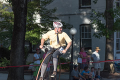 Highwheel Race (8-13-16)-255 (nickatkins) Tags: bike bikes biker bikers bikerace bikeraces bikeracing cycling cyclist race bicycle bicycling bicyclist highwheel old oldtime frederick historic