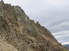Mt Hood Summit Scramble -  Who put that rock there? (benlarhome) Tags: kananaskis alberta canada mounthood mthood trail trek scramble scrambling path rockies rockymountain mountain gebirge montagne gipfel summit peak