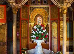 the kings Moorish Kiosk (werner boehm *) Tags: wernerboehm schlosslinderhof knigludwigii bayern innenaufnahme maurischerkiosk moorish kiosk
