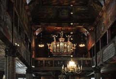 Habo kyrka, orgellktaren (Bochum1805) Tags: kyrka church wood organ orgel churchorgan