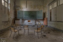 Schools Out 04 (Kristof Ven - beauty in decay / urbex -) Tags: schoolsout ue urbex urban exploration beauty decay abandoned