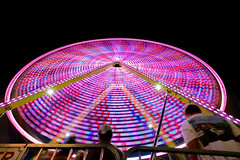 State Fair-42804.jpg (Mully410 * Images) Tags: festival falconheights minnesotastatefair lights nightscene ferriswheel statefair fair longexposure minnesota