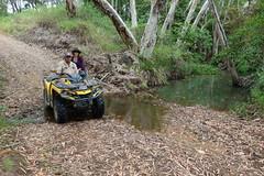 Joe Muscat farm visit - Laura and Lucas (bilateral) Tags: joemuscat sugarcane agriculture hemp farming innovation sediment sedimenttraps water irrigation mackay eton
