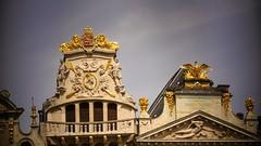 Bruxelles (Grand-Place) (Yasmine Hens) Tags: hensyasmine belgium wallonie europa aaa belgi belgia belgien  belgique blgica   belgie  belgio    bel be brussel bruxelles architecture brilliant gold