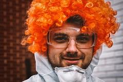 Street Portrait (Reiner Girsch) Tags: street people germany deutschland crazy strasse streetphotography kln olympus koeln carneval karneval omd crazypeople em5 mirrorless strassenfotografie rgfotografie