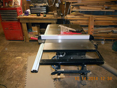 Hank Kennedy table saw project - diy guide rails 15