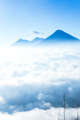 Explorations within the troposphere (Shawn-Tron) Tags: travel mountains clouds volcano hiking guatemala atmosphere volcanoes abovetheclouds troposphere volcanpacaya pacayavolcano volcandefuego walkingaboveclouds