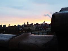 Astoria, NY (lotos_leo) Tags: roof sunset ny manhattan midtown astoria midtownmanhattan