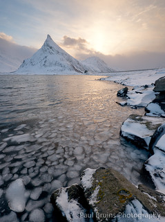 Lofoten Ice Sunrise