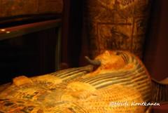 Coffin at museum (konde) Tags: coffin ancientegypt deirelbahri medelhavsmuseet 21stdynasty babelgasus thirdintermediateperiod khonsumose