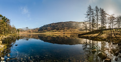 Blea Tarn April 2015 Panorama (Mark Schofield @ JB Schofield) Tags: above blue light england sky woman mountains wet beautiful reflections dove seat lakes lakedistrict tranquility calm peat cumbria fells hart how horseshoe pike bog tarn crags sandal tranquil fairfield shaft langdale dovedale patterdale deepdale blea crag fellwalking englishlakes hartsop stsundaycrag grisedale cofa